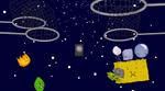 Rocky barfs IN SPACE