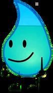 Teardrop when happy