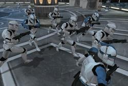 501st phase I clones on kamino