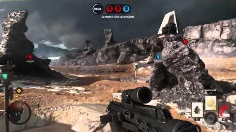 Battlefront - Course aux droïdes