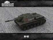 SU-152 render