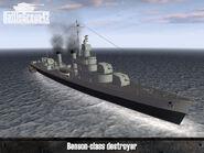Benson-class destroyer 1