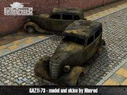 GAZ-11-73 render 3