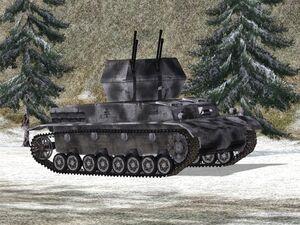Flakpanzer IV Wirbelwind 1