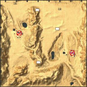 El Alamein map