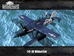 F4F-3S Wildcatfish render