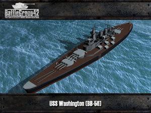 North Carolina-class battleship render