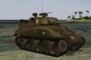 M4a1 sherman late dd