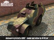 Autocarro Protetto AS37 render 2
