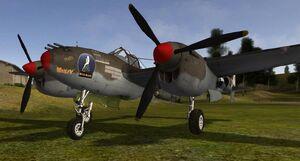 P38l bombs 1