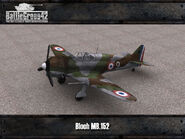 Bloch MB.152 render