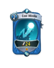 Magic 0 CARD HERO COOL MISSILE MIN