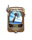 Melee 0 CARD HERO SPEEDY HATCHET