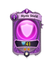 Magic 1 CARD HERO MYSTIC SHIELD MIN