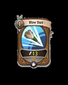 Ranged 0 CARD HERO BLOW DART