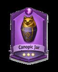 2 Canopic Jar