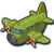Air cargo plane icon