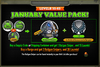 January Value Pack 55-65