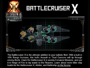 Battlecruiser x tip