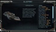 Lightning Carrier Stats