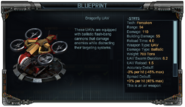 Dragonfly UAV Stats