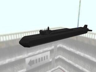 Borei-Class Nuclear Submarine