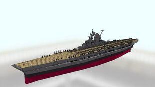 USS Hornet Front