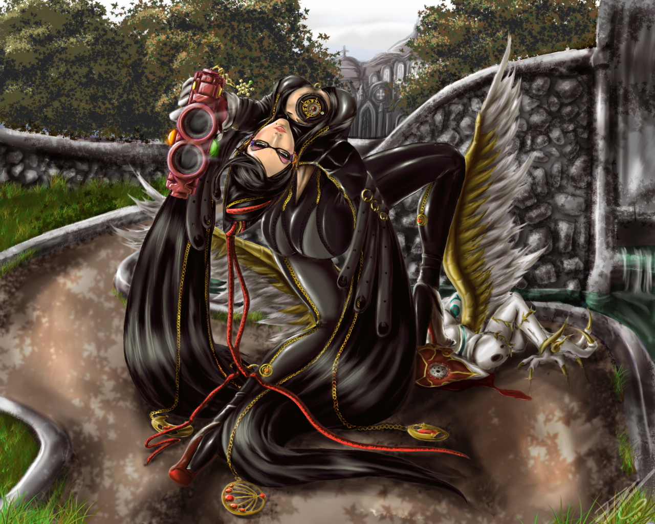Bayonetta Fan Art File:bayonetta Fan Art 3.jpg