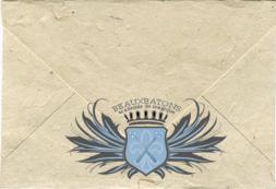 Beauxbatons Letter Cover