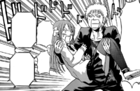 Kanzaki Carries Yuka In His Arms