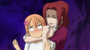 Nene chokes Yuka