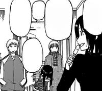 Misaki Invites Oga's Friends In