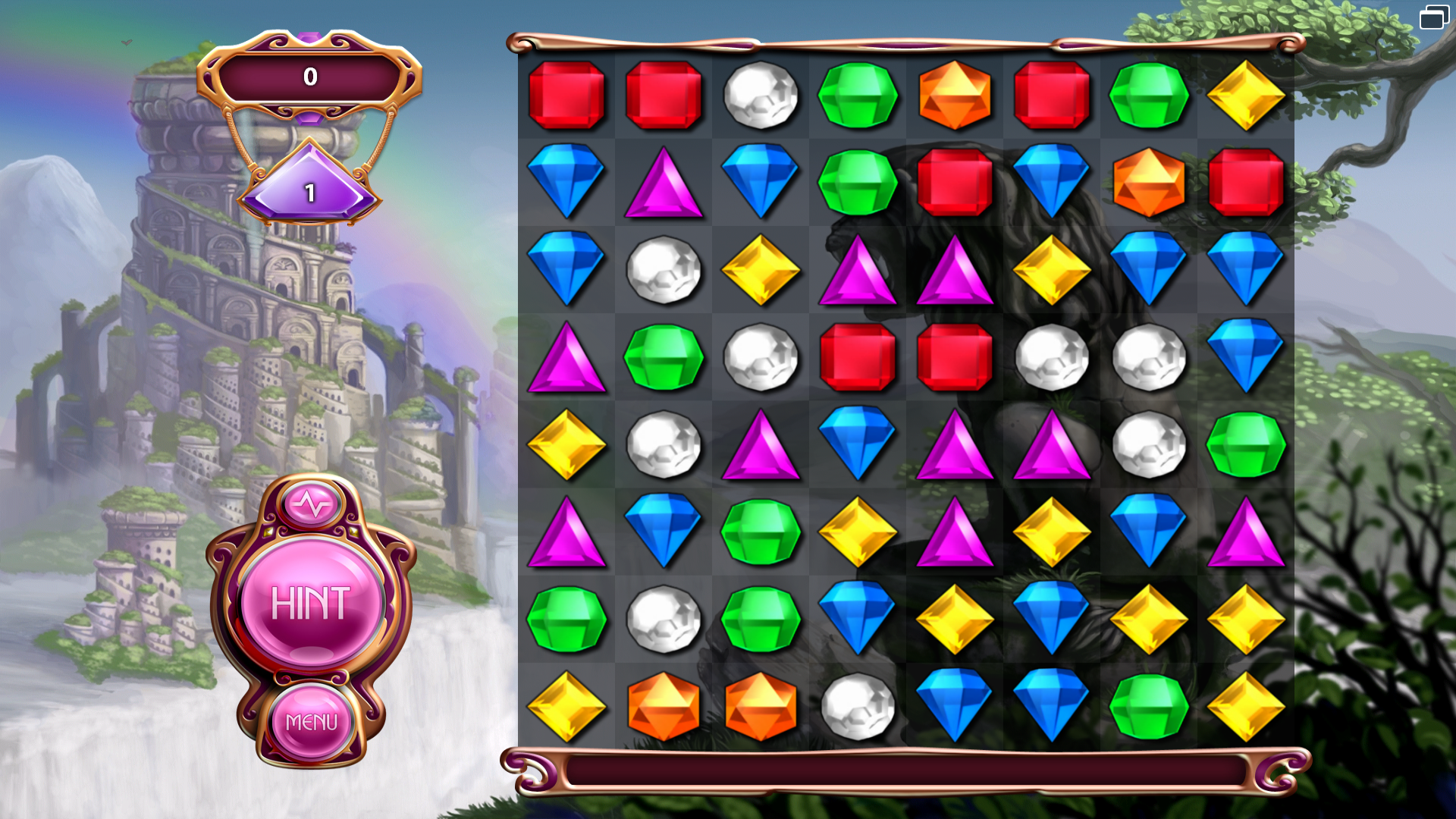 Zen mode bejeweled wiki fandom powered by wikia for Food bar games free online