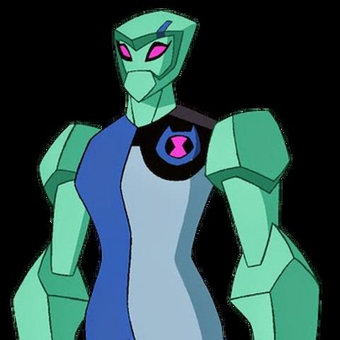 Gwen como Diamante en Omniverse