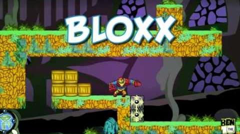 Ben 10 Omniverse- Ball Weevil and Bloxx Game Creator