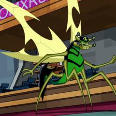 Insectoide de 16 años en Omniverse
