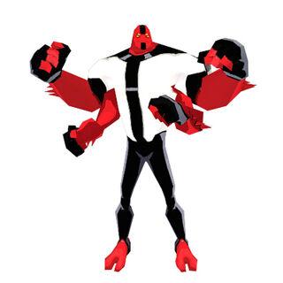 Cuatrobrazos en Fusion Fall Heroes