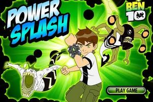 Ben10-Power Splash CartoonNetworkGame
