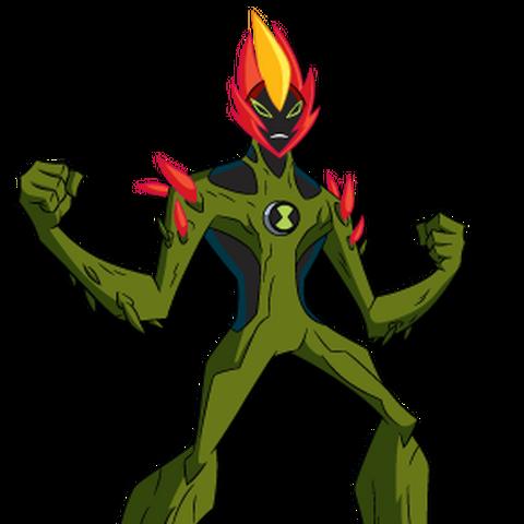 Fuego Pantanoso en Fuerza Alienígena/Supremacía Alienígena.