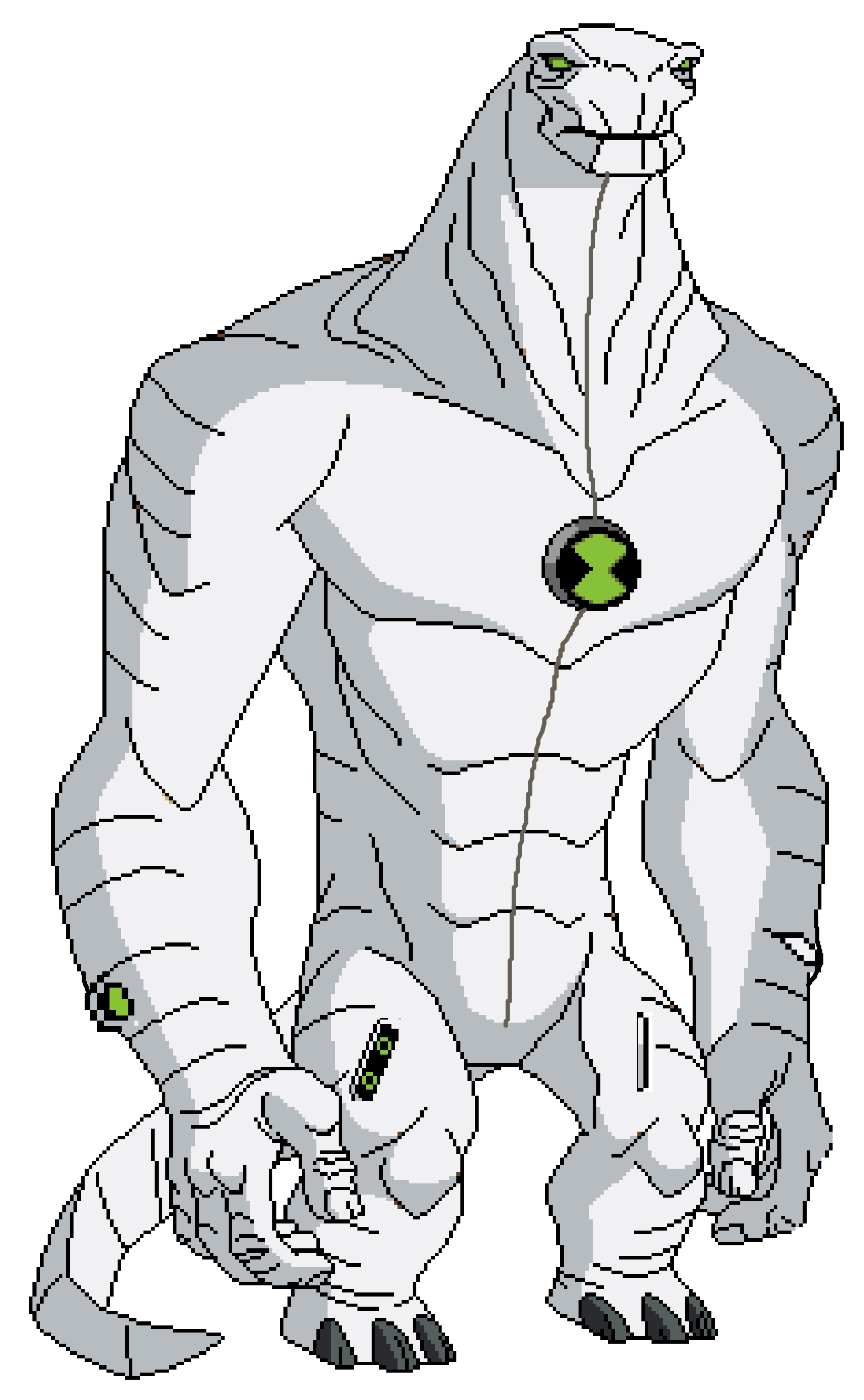 ben 10 alien force coloring pages eye guy from omniverse - Ben Ten Alien Force Coloring Pages