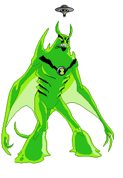 ben 10 coloring pages goop - photo#33