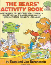 Bears activity book cover