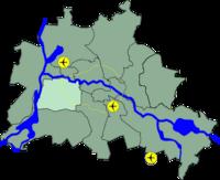 Lage Charlottenburg-Wilmersdorf