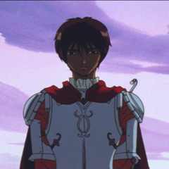 Casca being contemplative.