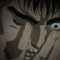 Guts explains to <a href=