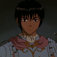 Casca as portrayed in the anime.