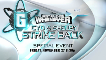 Cyd and Shelby Strike Back Title Card