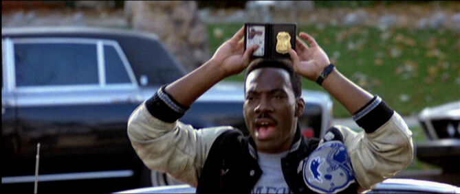 I'm Axel Foley, Beverly Hills Building Inspector