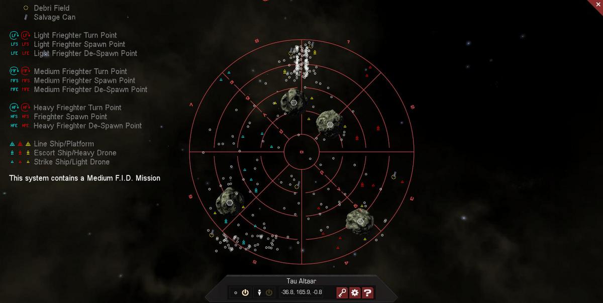 Tau Altaar 3D System Map