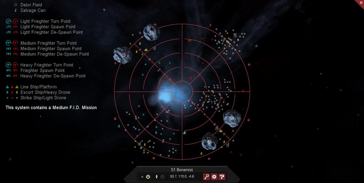 51 Bonamist 3D System Map